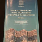 @Matt_Cooke86 Download program #ATSISPEP First Indigenous Suicide Prevention Conference https://t.co/aB7QUJNLxp https://t.co/msgiGFtNe0