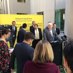 Clive Palmer announcing senate candidates. https://t.co/3VQOqZWKSR