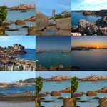 Hâte d y être ???? j aime trop cette Bretagne # côte granit rose # un site exceptionnel galets îles bon week-end ???????????????? https://t.co/2BM7pzycxo
