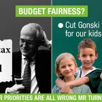 Robbing our kids futures so millionaires can get a double tax break #auspol https://t.co/u8lAznB6sB