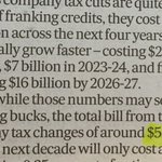 In the AFR, Chris Richardson estimates the 10-year cost of a company tax cut at $55 billion. #auspol https://t.co/0nzwxJ91Aj