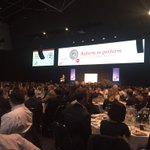About 1000 ppl getting their budget geek on in #perth #pwcbudget https://t.co/nTYs12ETQM