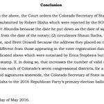 Robert Blaha, one of two millionaire candidates in the race, makes the #cosen ballot. The order --> #copolitics https://t.co/LoJ2z5fF8K