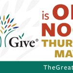 Keep on giving! #TheGreatGive is ON until Noon May 5th! https://t.co/mBG9kLQ5fQ #NHV #LNV #iGiveLocal https://t.co/wLslHyIBCW