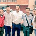 Con @JAHFraguas @LauraVignonC @ClaudiaSilFe en el Mercado La Merced. El 5 de junio ganaremos #EsTiempoDeCrecerJuntos https://t.co/NxenFR1lU3