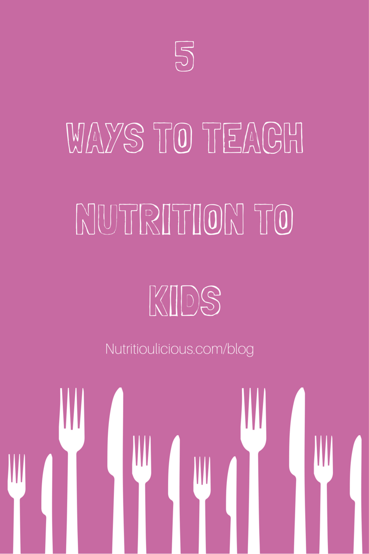 5 Ways to Teach Nutrition to Kids @FitNutrition @kidsnutrition @kidslivewell https://t.co/f2fdHz1aff #kidseatright https://t.co/LcOUiBwqV2