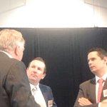 Kim Beazley, Mark McGowan and Ben Wyatt get to catch up #pwcbudget @MarkMcGowanMP @benwyatt https://t.co/agYwBCCxFv