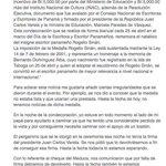 #Nacionales Carta del Hijo del Poeta #JoseFranco por la humillación hecha a su Padre por el @INACPanama https://t.co/YBTE7RF2ad