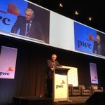 John Hewson gets the crowd going at @PwC_AU #pwcbudget https://t.co/5cMTqERtcY