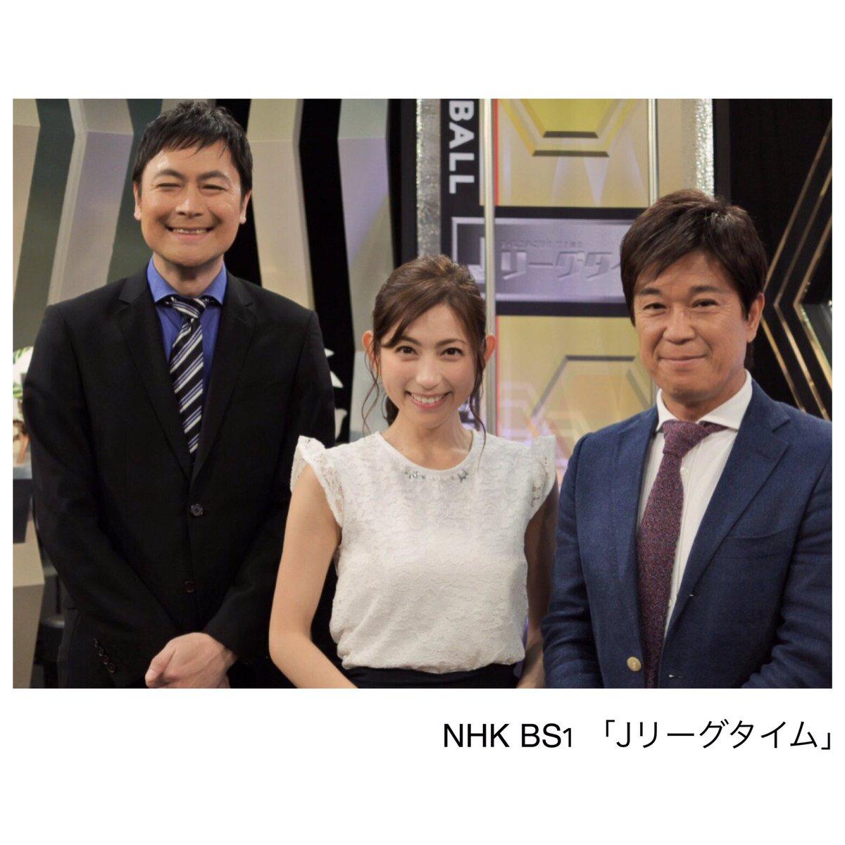 Jリーグタイム本番後Nikonのカメラで皆で写真を撮ろうとすると… 「いいカメラだね」と早野さん 「最近レンズ替えてwこれだと背景がキレイにボケるんです(^-^)」と説明したら「オレみたいじゃん!w」と早野さん。昨日一番笑いましたw https://t.co/9yyr3hP0vX