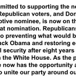 """Heres your 7:40 pm ringing endorsement from the Republican Senate leader of the """"presumptive nominee"""" https://t.co/7kU4HpdeCc"""