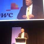 """Kim Beazley firing on all cylinders #pwcbudget """"the core problem: we have a Euro social system but a US tax system"""" https://t.co/IZou7PTShl"""