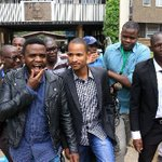 Babu Owino taken to court to face charges for causing grievous harm to Mike Jacobs following his arrest last night. https://t.co/idNGwKoKuu