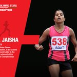 Lets cheer for O.P. Jaisha  #RioOlympics2016 #MakeIndiaProud https://t.co/rRLoHCW1Aj