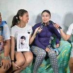 Congratulations sa ating Sugod Bahay winner na si Angelica Angeles! :) @mainedcm #ALDUB42ndWeeksary © EB FB Page https://t.co/viIVrhdwO7