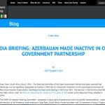 #FAIL: #Azerbaijan made inactive in Open Government Partnership https://t.co/O97xPXXqGK #NKpeace #KarabakhNow https://t.co/7MClgYZxrP