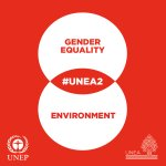 Gender equality is important for effective action in all aspects of #SustDev: https://t.co/eYAxb7LphY #UNEA2 https://t.co/xpCYOU1wod