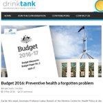 Whats the #Budget2016 said about preventive #health? Not much. https://t.co/iA3GikeRIT @LRussellWolpe @KConigrave https://t.co/UfI27UHm3s