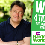 #WIN! 4 TICKETS to @BBCGWLive at #Birminghams @thenec 16-19 June. Simply RT by 9/6 to enter. https://t.co/F0ZPfc0eFQ