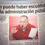 ConElMazoDando dcabellor :NO PERMITIREMOS ESCUÁLIDOS NI FALSOS CHAVISTAS EN CARGOS PÚBLICOS  #EnMayoMasChavismo https://t.co/lqobe1ScPi