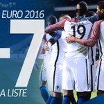 D.Deschamps annoncera la liste des joueurs retenus pour l@EURO2016 le jeudi 12 mai (à 20H sur @TF1LeJT) ! ???? https://t.co/7wF85R0e9q