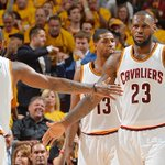 Cavs hit an NBA record 25 threes in a 123–98 Game 2 win over the Hawks. Cleveland leads 2–0 https://t.co/MKs0NaNKHn https://t.co/OeAdrSxYX0