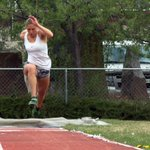 She already broke the school record this spring but Sammy Evans triple jump goals continue: https://t.co/Es3eIywJqT https://t.co/Gw6S3vDWa4