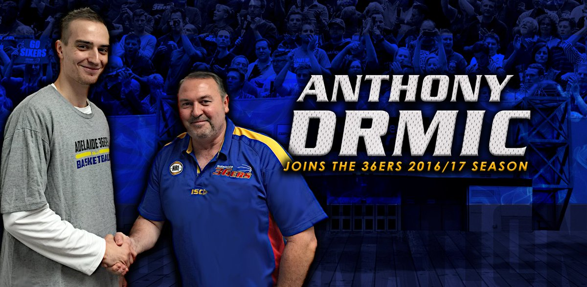 The news you've been wiating for 36ers fans... @AnthonyDrmic signs for 2 years.  Full story: https://t.co/iInIWstIgG https://t.co/n49dJ6hl5G