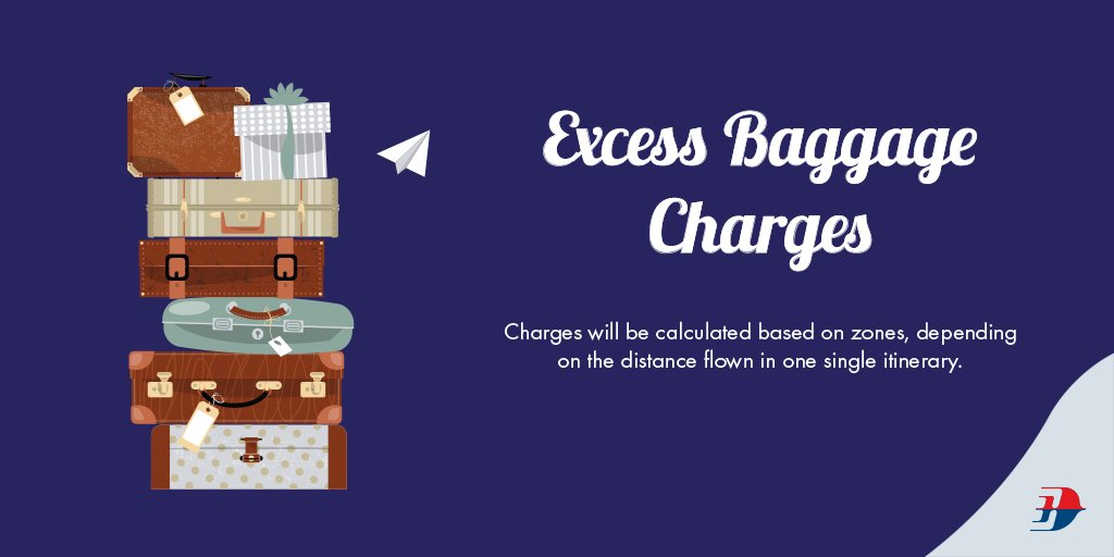 Exceeded your baggage allowance? Visit for more info!