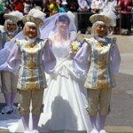 西又先生のウェディングドレス姿に早くも涙が(⑉꒦ິ^꒦ິ⑉)♡ キレイです!!(*ฅ́˘ฅ̀*)♡ #西又葵・三宅淳一結婚式 https://t.co/bKcqbiBabz