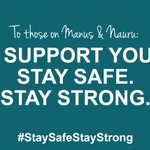 Share a message of solidarity with those on Manus & Nauru> https://t.co/EwCyr2yc36 #StaySafeStayStrong https://t.co/aBvBIMxsjx