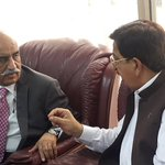 Meeting with Syed Khurshid Shah as part of the ongoing campaign to Highlight the Model Town Massacre https://t.co/XcrE8zUI6y