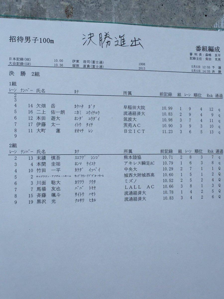 日本男子短距離総合part47©2ch.netYouTube動画>22本 ->画像>28枚