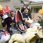 Amy Torres & Gabriel Rede build costumes 4 Comic Con Monterey @montereyherald #ComicCon https://t.co/JT8Ou94FeQ https://t.co/CpFLaMhcQQ