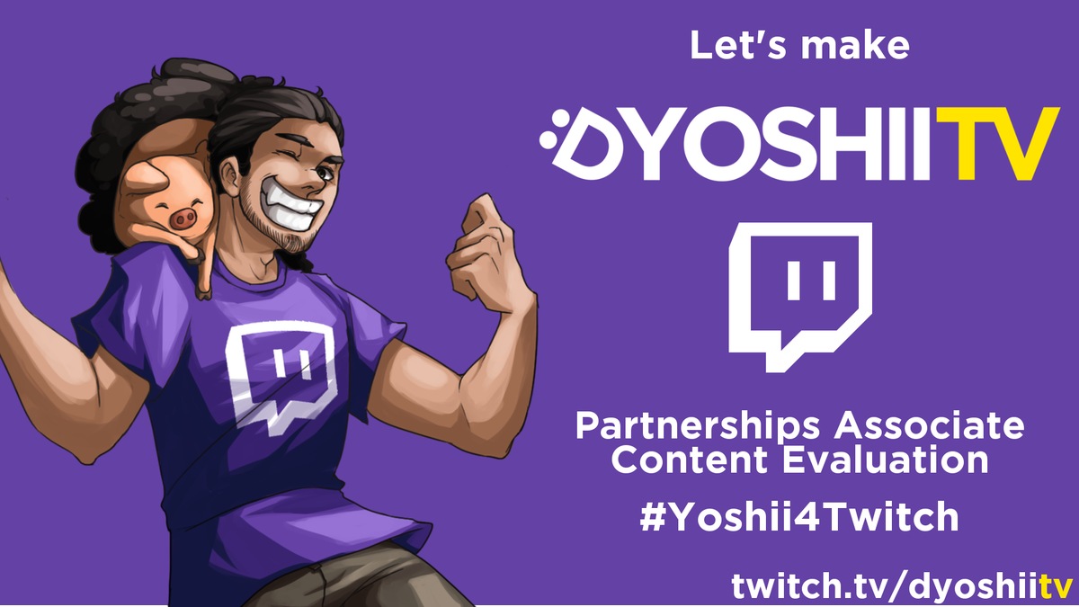 There's a job at @Twitch and it's right up my alley! Support this with an RT or use the hashtag #Yoshii4Twitch https://t.co/u2zvEfqXSS