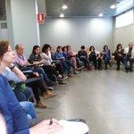 """Última sesión del taller #adolescencia @JaumeFunes """"no se puede ser adolescente sin arriesgarse"""" https://t.co/ojAXGaCCwx"""