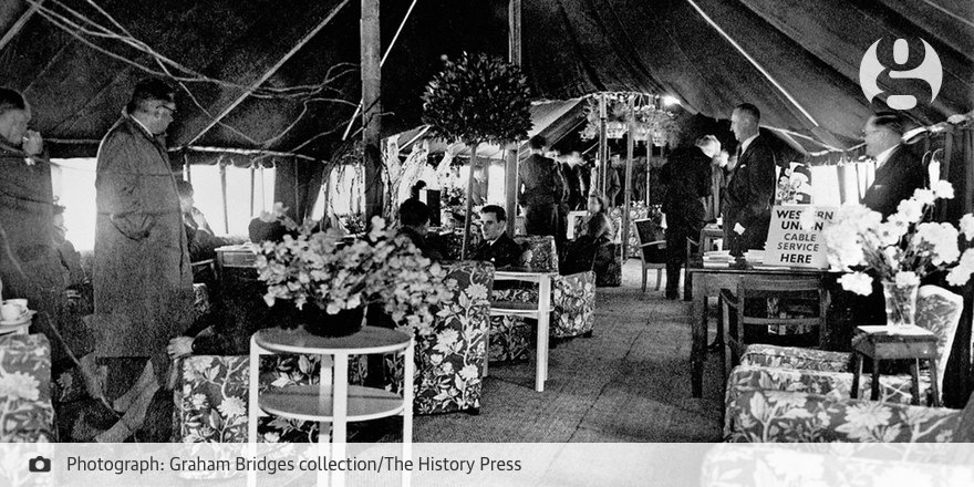 RT @guardian: Heathrow airport at 70: from tents to terminals – in pictures