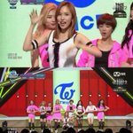 First #1 trophy since debut, congrats to TWICE for winning on MCountdown with Cheer Up! #CheerUp1stWin @JYPETWICE https://t.co/Uxj9IkcYMd