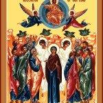 Joyeuse fête de lAscension. Le Seigneur est avec nous pour toujours. Il nous comble de son amour. https://t.co/TKqapK9vTb