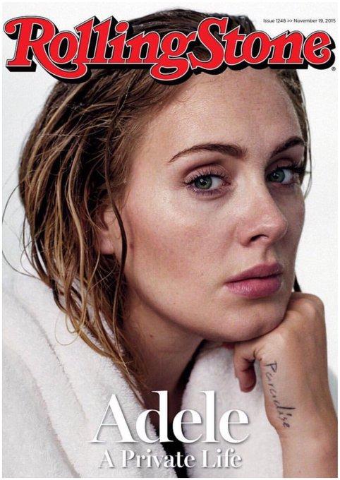Happy Birthday Adele! Sings like an angel....Swears like a docker!....& we f**king love her for it!