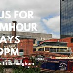 You are invited to join us for #BrumHour Sundays at 8pm. Share your business, skills & services with #Birmingham https://t.co/I2tICajdhW