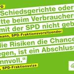 Immer mehr TTIP kritische Stimmen in der @SPDde 👏👏👏 Wie gehts weiter mit TTIP, @sigmargabriel? #TTIPleaks https://t.co/gkCz09Tamn