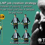 With enough exposure, the Libs could lose the election on their $4 per hour policy alone. So please RT #AusPol https://t.co/P1qjfc6bNP