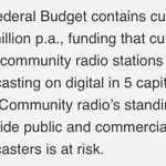 Support independent stories, music & ideas. Stop #Budget2016 cuts @2ser #keepcommunityradio https://t.co/YpxYVLBPwK https://t.co/EmKnIr1fQM