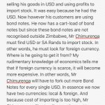 The Bond Note Scenario, please help! #twimbos #BondNotes #zimbabwe #ZimDollar @263Chat @TheSourceZW https://t.co/ibhsNUO7ON