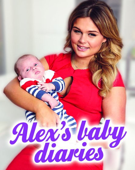 Baby Albie has his first girlfriend & we can't cope with the cuteness @alex_weaver_96! MORE: