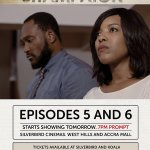 All new episodes of #Shampaign Epi 5&6 from tomorrow. 3&4 still showing Silverbird Accra Mall/Westhills Mall tonight https://t.co/TRh8QpNQ1y