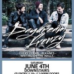 ICYMI we announced that well be joining our friends @Daydream_Frenzy at their EP launch 4th June @DownstairsUK https://t.co/GJ2sd82bRt