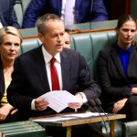 """Shorten sledges Turnbull """"Instead of taking selfies on the train, we'll get new projects underway"""" #budgetreply https://t.co/7j76rUDO8y"""