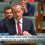 #Budget2016: Labor will restore #Gonski funding - and go beyond. #auspol #ausvotes https://t.co/l2FrPbg80r